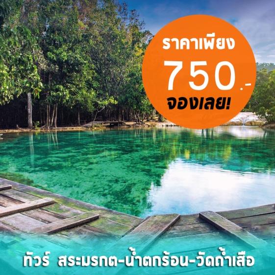 ทัวร์สระมรกต-น้ำตกร้อน-วัดถ้ำเสือ https://guidekrabi.com/tour-krabi/forest-tour/tour-rainforest/